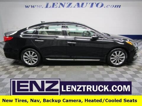 2016 Hyundai Sonata for sale at LENZ TRUCK CENTER in Fond Du Lac WI