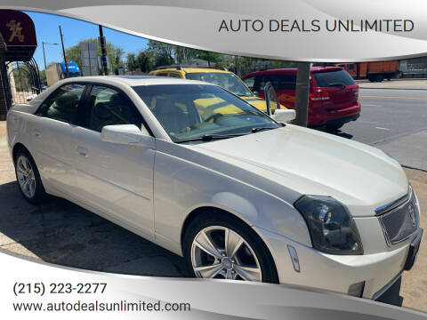 2007 Cadillac CTS for sale at AUTO DEALS UNLIMITED in Philadelphia PA