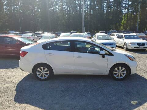 2013 Kia Rio for sale at WILSON MOTORS in Spanaway WA