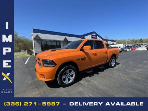 2015 RAM Ram Pickup 1500 for sale at Impex Auto Sales in Greensboro NC