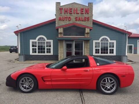 1999 Chevrolet Corvette for sale at THEILEN AUTO SALES in Clear Lake IA
