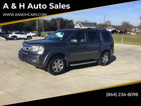 2010 Honda Pilot for sale at A & H Auto Sales in Greenville SC
