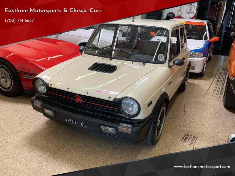 1984 Autobianchi Fiat A112 for sale at Fastlane Motorsports & Classic Cars in Addison IL