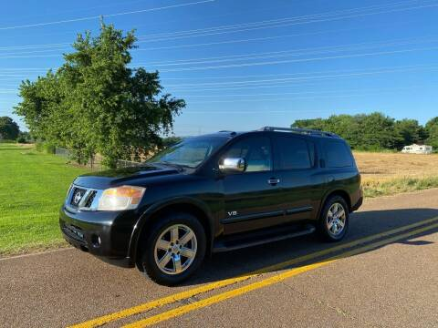 2009 Nissan Armada for sale at Tennessee Valley Wholesale Autos LLC in Huntsville AL