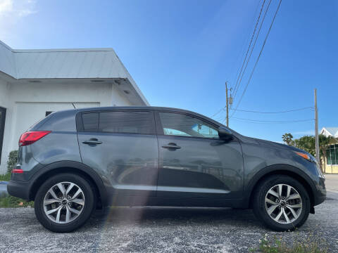 2015 Kia Sportage for sale at Key West Kia - Wellings Automotive & Suzuki Marine in Marathon FL