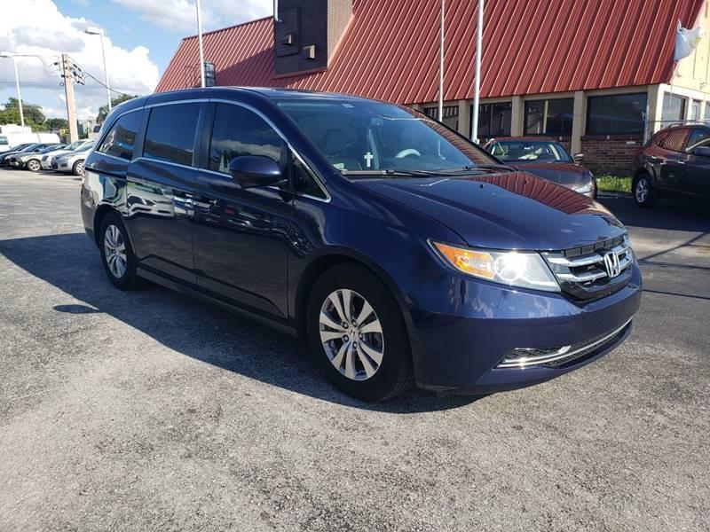 2016 Honda Odyssey for sale at City Automotive Center in Orlando FL