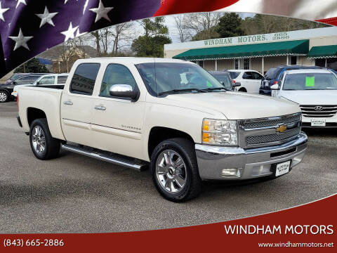 2012 Chevrolet Silverado 1500 for sale at Windham Motors in Florence SC