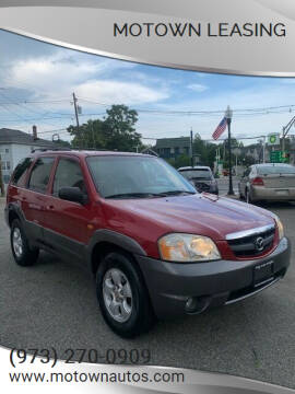 2004 Mazda Tribute for sale at Motown Leasing in Morristown NJ