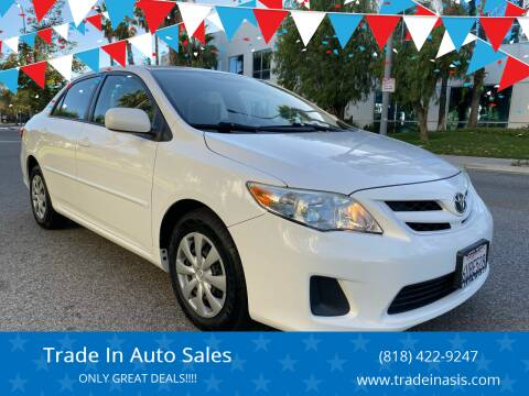 2011 Toyota Corolla for sale at Trade In Auto Sales in Van Nuys CA