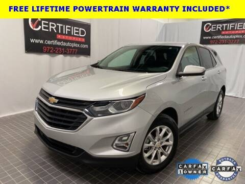 2020 Chevrolet Equinox for sale at CERTIFIED AUTOPLEX INC in Dallas TX
