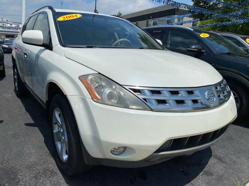 2004 Nissan Murano for sale at WOLF'S ELITE AUTOS in Wilmington DE