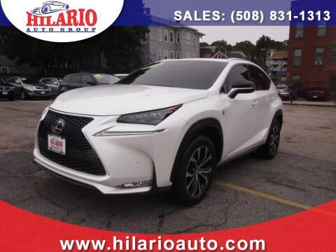 2015 Lexus NX 200t for sale at Hilario's Auto Sales in Worcester MA