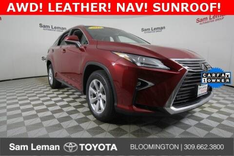 2017 Lexus RX 350 for sale at Sam Leman Toyota Bloomington in Bloomington IL