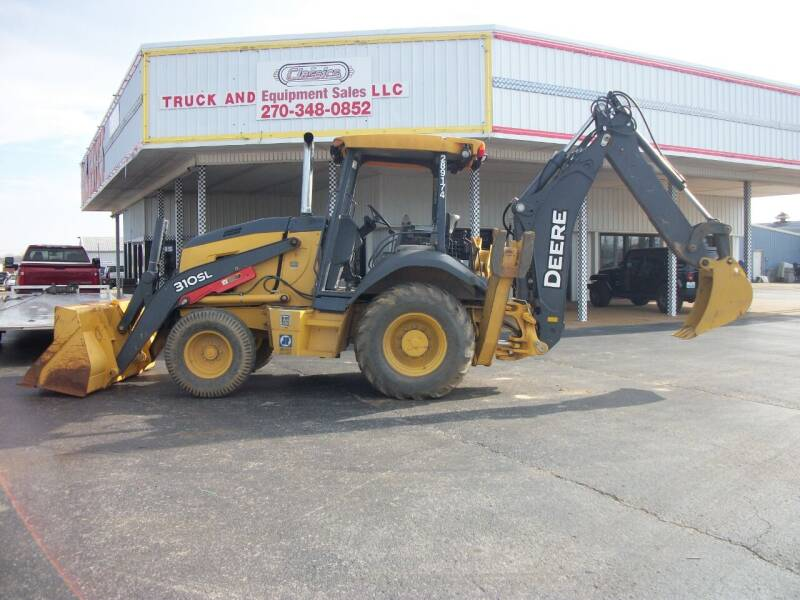 2016 John Deere 310SL Backhoe for sale at Classics Truck and Equipment Sales in Cadiz KY