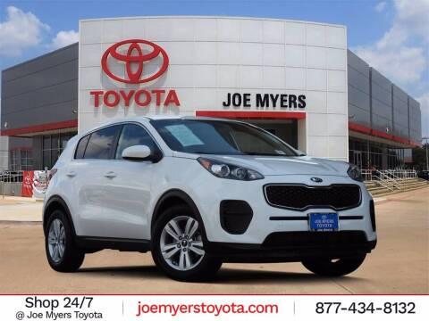2017 Kia Sportage for sale at Joe Myers Toyota PreOwned in Houston TX