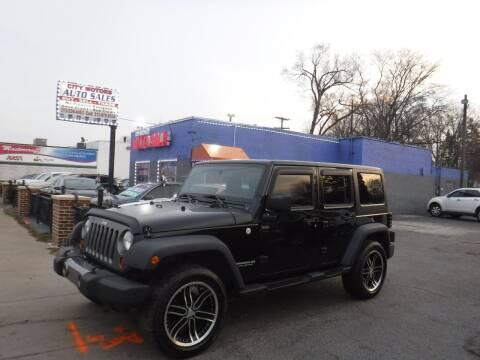 2010 Jeep Wrangler Unlimited for sale at City Motors Auto Sale LLC in Redford MI
