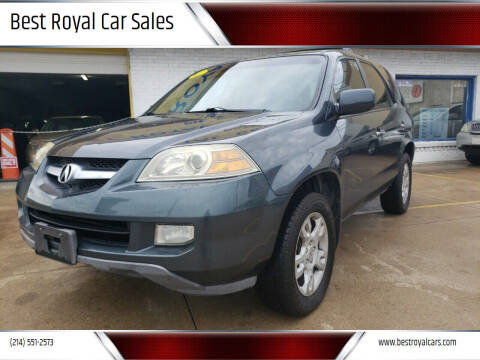 2005 Acura MDX for sale at Best Royal Car Sales in Dallas TX