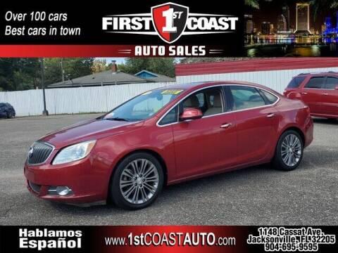 2012 Buick Verano for sale at 1st Coast Auto -Cassat Avenue in Jacksonville FL
