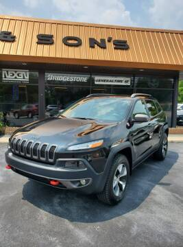2016 Jeep Cherokee for sale at Houser & Son Auto Sales in Blountville TN