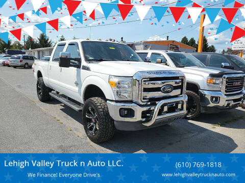 2011 Ford F-350 Super Duty for sale at Lehigh Valley Truck n Auto LLC. in Schnecksville PA