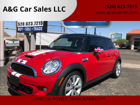 2013 MINI Hardtop for sale at A&G Car Sales  LLC in Tucson AZ