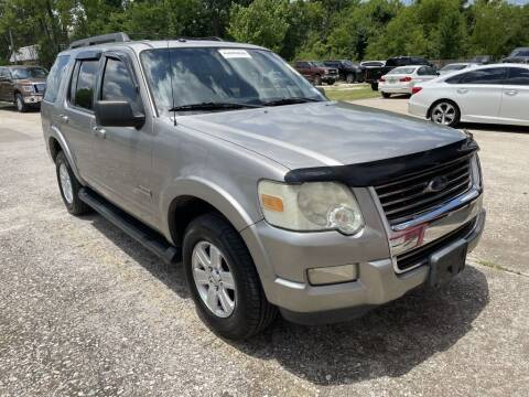 2008 Ford Explorer for sale at AMERICAN AUTO COMPANY in Beaumont TX