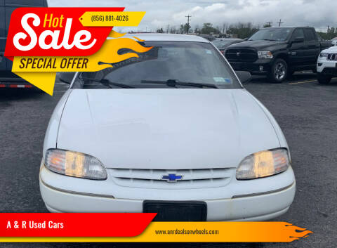 1996 Chevrolet Lumina for sale at A & R Used Cars in Clayton NJ