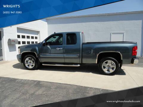 2011 Chevrolet Silverado 1500 for sale at WRIGHT'S in Hillsboro KS
