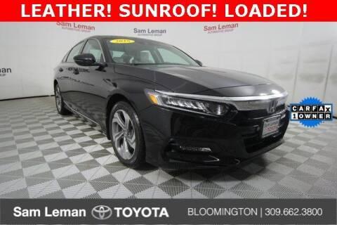 2018 Honda Accord for sale at Sam Leman Toyota Bloomington in Bloomington IL
