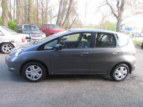 2011 Honda Fit for sale at Nutmeg Auto Wholesalers Inc in East Hartford CT