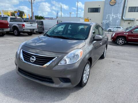 2014 Nissan Versa for sale at MANA AUTO SALES in Miami FL