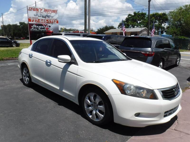 2010 Honda Accord for sale at LEGACY MOTORS INC in New Port Richey FL