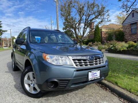 2012 Subaru Forester for sale at DAILY DEALS AUTO SALES in Seattle WA