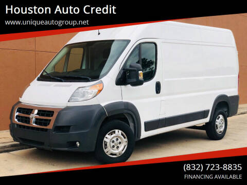 2016 RAM ProMaster Cargo for sale at Houston Auto Credit in Houston TX