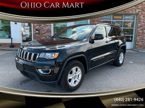 2017 Jeep Grand Cherokee for sale at Ohio Car Mart in Elyria OH