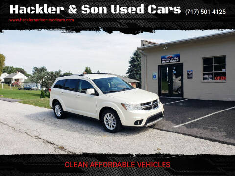 2013 Dodge Journey for sale at Hackler & Son Used Cars in Red Lion PA