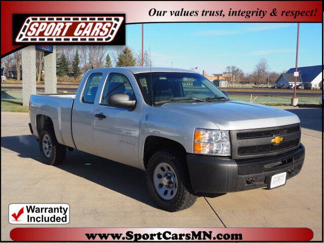 2013 Chevrolet Silverado 1500 for sale at SPORT CARS in Norwood MN