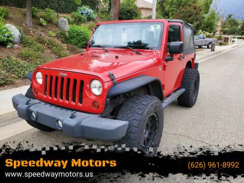 2011 Jeep Wrangler for sale at Speedway Motors in Glendora CA