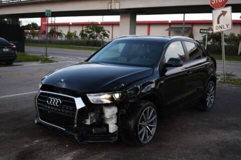 2018 Audi Q3 for sale at ELITE MOTOR CARS OF MIAMI in Miami FL