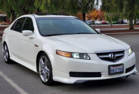 2006 Acura TL for sale at ALL CREDIT AUTO SALES in San Jose CA