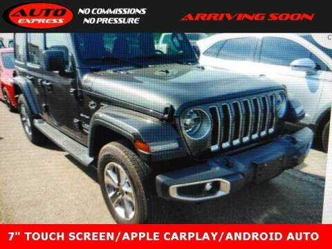 2018 Jeep Wrangler Unlimited for sale at Auto Express in Lafayette IN