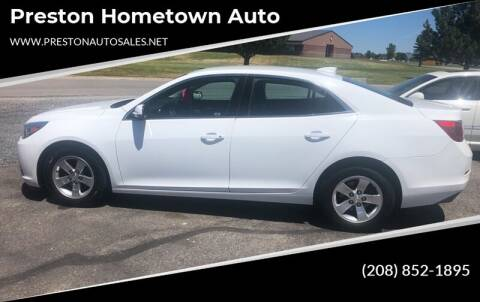 2016 Chevrolet Malibu Limited for sale at Preston Hometown Auto in Preston ID