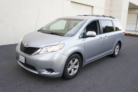 2012 Toyota Sienna for sale at Sports Plus Motor Group LLC in Sunnyvale CA