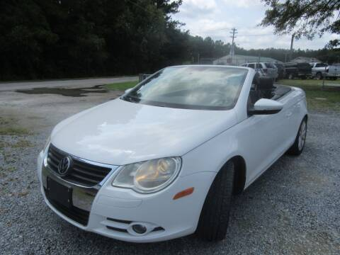 2009 Volkswagen Eos for sale at Bullet Motors Charleston Area in Summerville SC