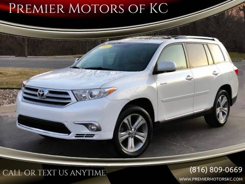 2011 Toyota Highlander for sale at Premier Motors of KC in Kansas City MO