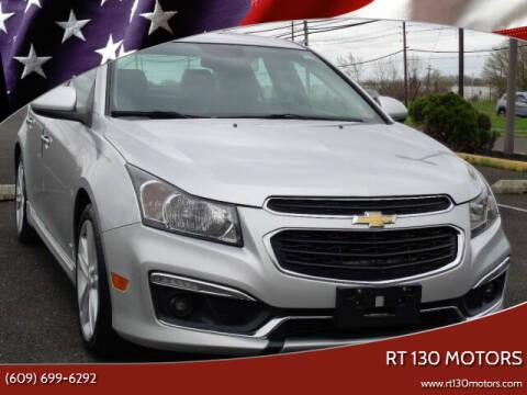 2015 Chevrolet Cruze for sale at RT 130 Motors in Burlington NJ
