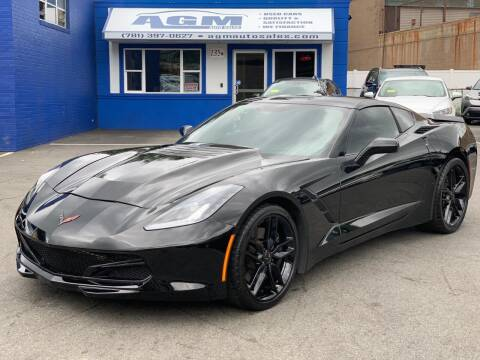 2014 Chevrolet Corvette for sale at AGM AUTO SALES in Malden MA