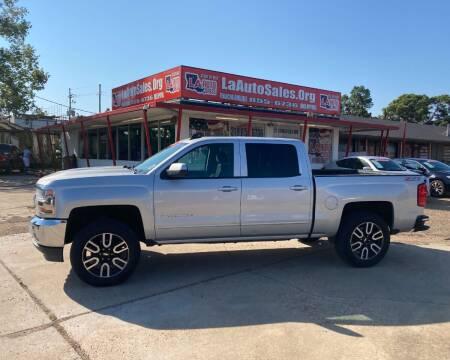 2016 Chevrolet Silverado 1500 for sale at LA Auto Sales in Monroe LA