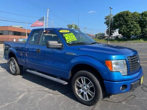 2014 Ford F-150 for sale at Fields Corner Auto Sales in Boston MA