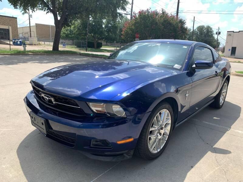 2012 Ford Mustang for sale at Vitas Car Sales in Dallas TX